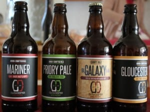 Beer from Gloucester Brewery