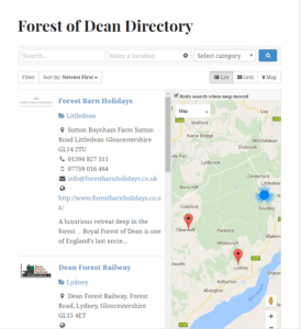 Forest of Dean Directory
