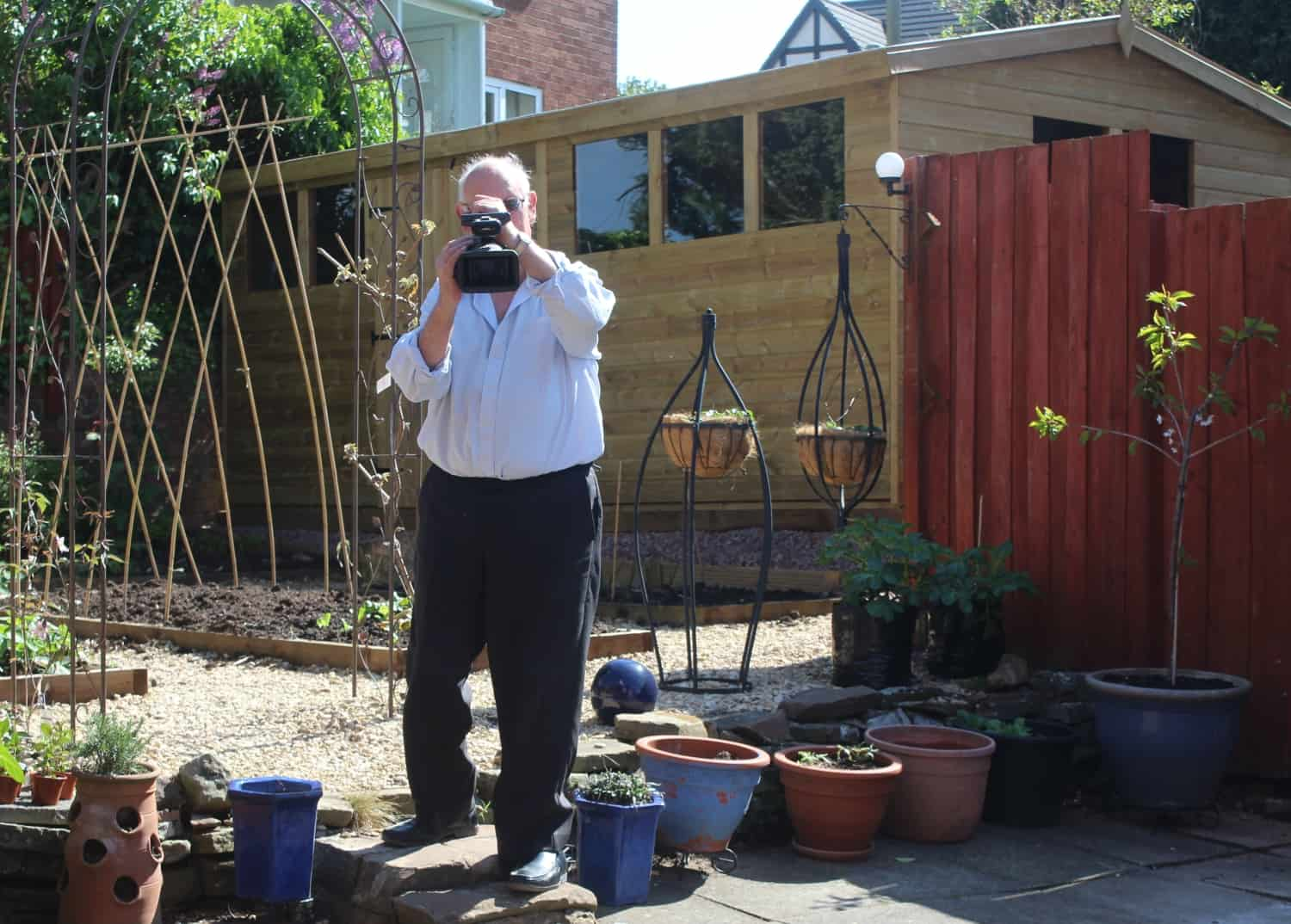 Gardening video from the forest of dean