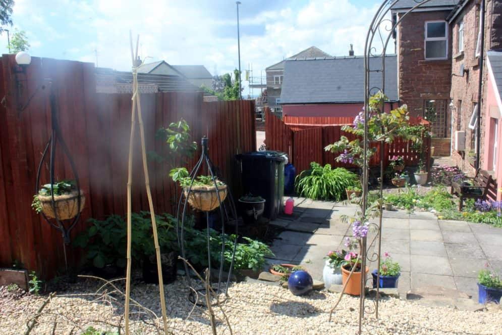 No need to regiment the garden