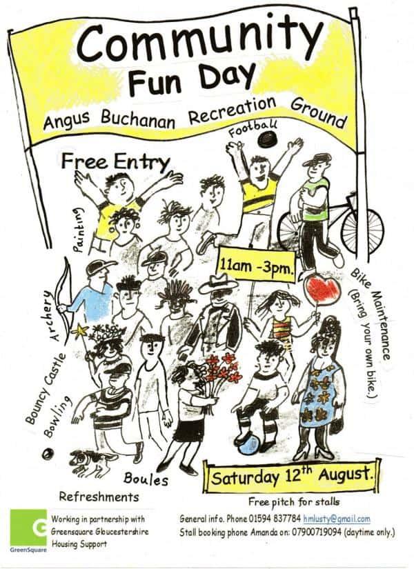 Family Fun Day - Angus Buchanan Recreation Ground